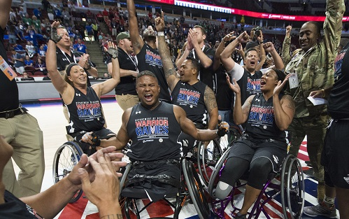 Warrior Games Wheelchair Basketball