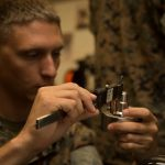 Marines with SPMAGTF-SC Learn Modern 3-D Printing Techniques