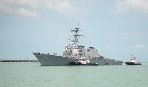 Missing USS John S. McCain Sailors