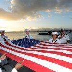 Pearl Harbor Victims Honored at USS Utah Memorial Sunset Service & Interment Ceremony