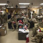 Many U.S. Troops Serving Overseas During the Holidays