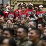 Chairman's USO Holiday Tour Entertains Troops in Afghanistan, Iraq