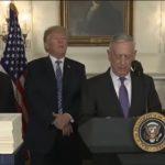Trump, Mattis Hail Spending Bill to Fund Strongest Military Ever