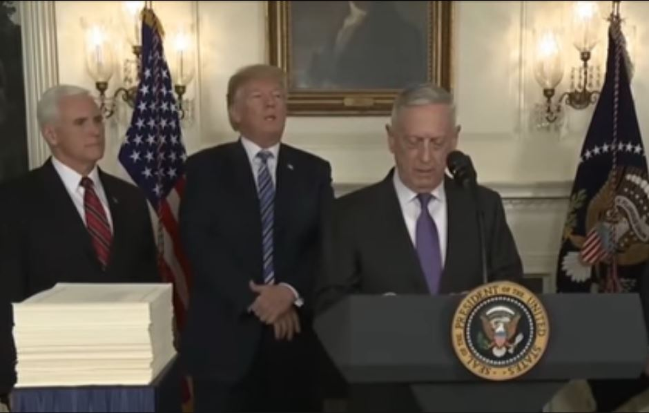 Defense Secretary Mattis: US Stands with Allies on Salisbury Incident