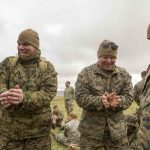 Marines Learn Survival Skills in Scottish Highlands