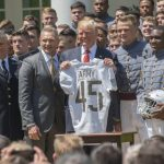 President Trump Presents Commander-in-Chief's Trophy to Army Team of 'Fighters'