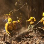 Thousands of Guardsmen Battle Western U.S. Wildfires