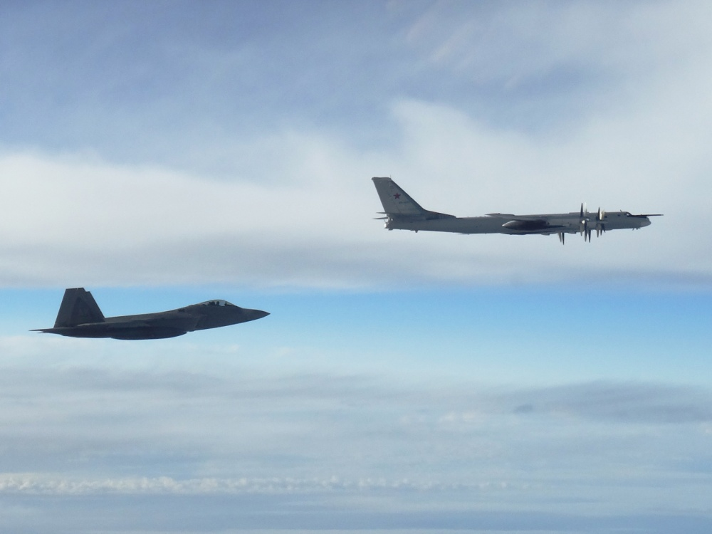 U.S. Air Force jets intercept Russian bombers near Alaska