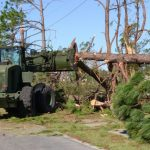 Florida National Guard Works Route Clearance After Hurricane Michael