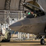 F-22A Raptors Arrive at Eglin In Wake Of Hurricane Michael