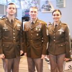 Army Pink And Green Uniform