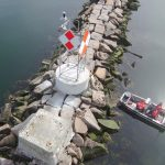 Coast Guard Employs Drone to Inspect New Structures