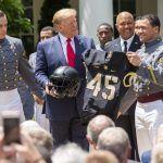 Army Football Reclaims Commander-in-Chief's Trophy at White House