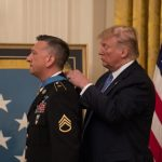 President Trump Awards Medal of Honor to First Living Iraq War Recipient