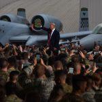 President Visits Troops, North Korea