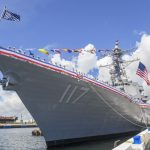 Warship USS Paul Ignatius (DDG 117) Brought to Life