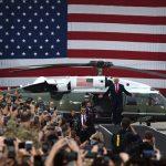 President Praises U.S. Military, Families in South Korea