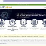 DoD Agency Keeps File Swaps Safe
