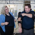 Taking a Load off the Sailors' Shoulders with Exoskeletons