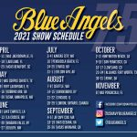 Blue Angels Release 2021 Schedule of 75th Anniversary Air Shows