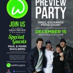 Wahlberg Brothers Open Wahlburgers at Exchange Shopping Center