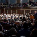 Trump Touts Military Rebuilding, Space Force, Strikes Against Terror