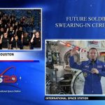 Army Astronaut Swears in Recruits in First-ever Ceremony From Space