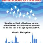 America Strong: Blue Angels, Thunderbirds to Conduct Multi-City Flyovers