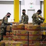 Washington Guard Members Assist Food Banks Across the State