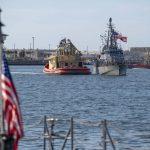 Disrupting Drug Traffickers - USS Tornado Completes Counter Drug Patrol