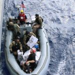 USS Lassen, Embarked Coast Guard Team Recover Illegal Drugs in Caribbean