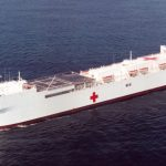 USNS Comfort Departs NYC Prepared for Future Tasking