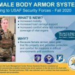 Air Force Improves Female Body Armor