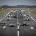 Air Force Demonstrates Combat Readiness in Elephant Walk