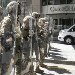 Tensions Decrease in Atlanta After Guardsmen Explain Mission to Protesters