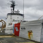 Coast Guard Cutter Diligence Arrives to New Home on NAS Pensacola