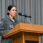 Test Pilot School Welcomes First Female, Flight Test Engineer Commandant