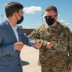 DoD Involved in COVID-19 Fight 'From Day One'