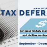 Social Security Payroll Tax Deferral for Military Personnel