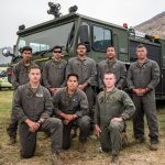 Marines Join Slink Fire Battle