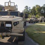 Marine Corps Leaders Visit JLTV Demonstration