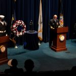 Navy Commemorates the 20th Anniversary of the Attack on the USS Cole
