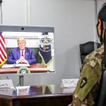 President Trump Makes Thanksgiving Calls to Troops