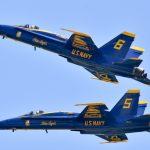 Blue Angels Conduct Final Flight on Legacy Hornet Aircraft