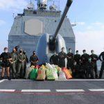 USS Port Royal Seizes Suspected Narcotics