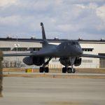 First-Ever B-1B Landing at Iwakuni, Japan