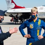 Blue Angels, Thunderbirds Conduct 2nd Annual Joint Training