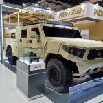 Kia Unveils Humvee-Like Military Vehicle Concept at IDEX