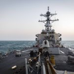 Destroyer Conducts Freedom of Navigation Operation in South China Sea