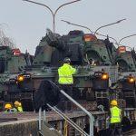 European Base Receives Next-Generation Self-Propelled Artillery Systems